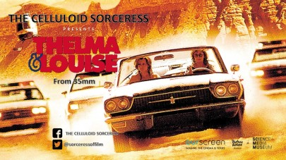 Thelma & Louise - Holding Card